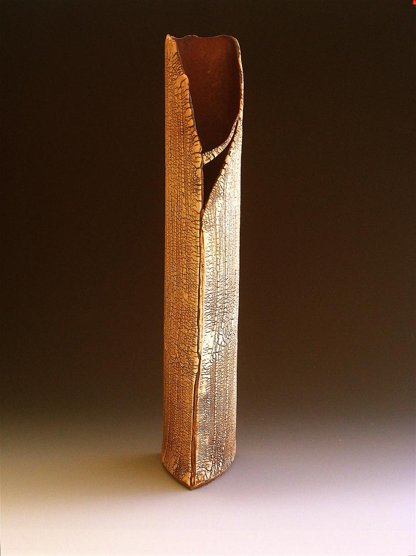 kohiki 23 ( vase )  20.5 x 7 x 7.5 inches