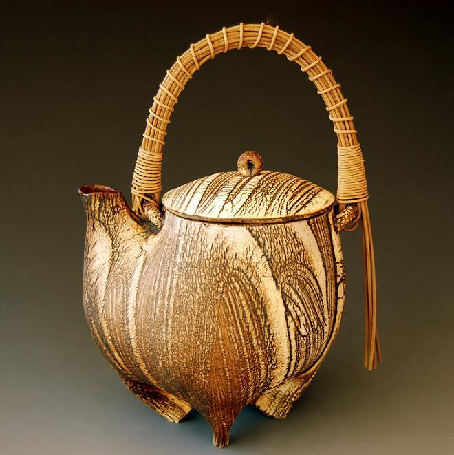 kohiki 2 ( tea pot )     9   x 6 x 5 inches
