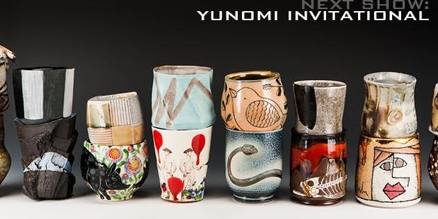 F eaturing 5 Yunomi by 200 artists.     http://akardesign.com/shows/index.asp