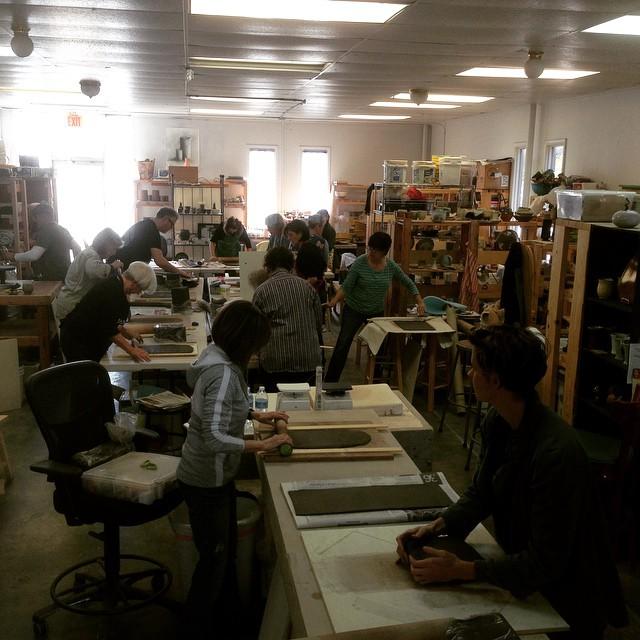 cone 10 studios, Charleston, SC 2015