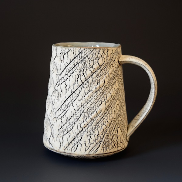 wr-1 Mug $55 holds 13 oz, handle for three fingers