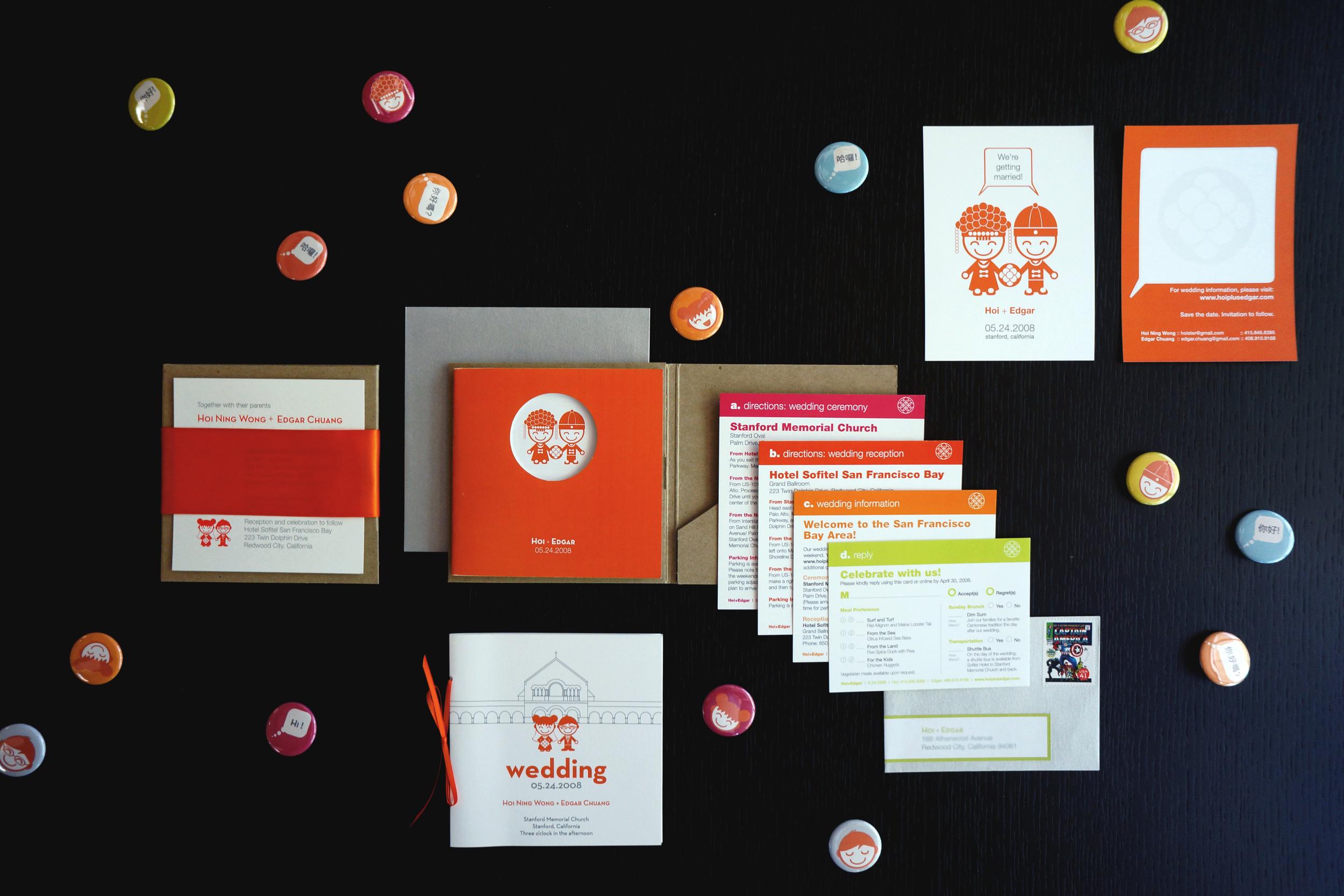 Graphic Design: Wedding Invitation — Hoi Ning Wong