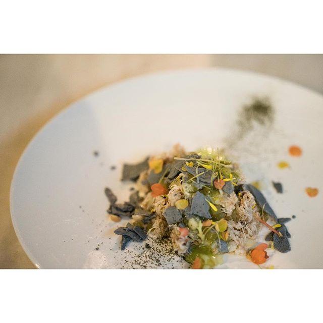 Beautiful food. #crabsalad #hongkong #tsimsatsui #sony #a7r #85mm #latergram