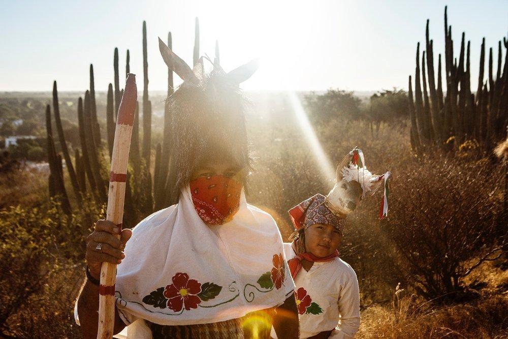 Francisco & Ana,Cultura Mayo-Yoreme |San Miguel Zapotitlán