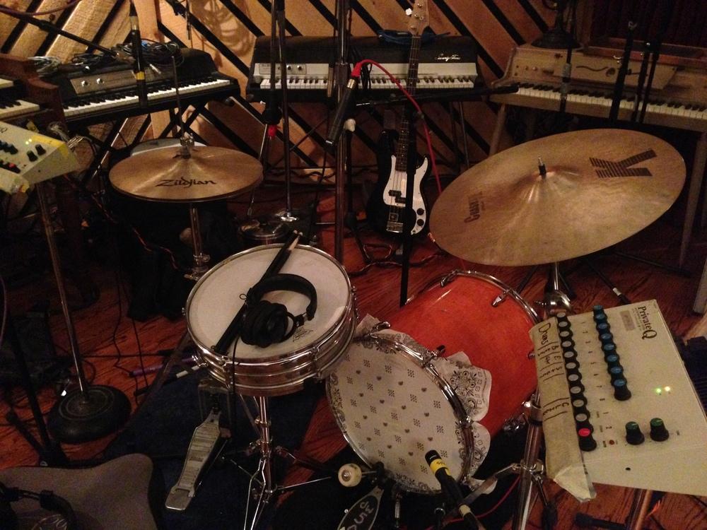 In the studio with Martin Sexton, Spirithouse Recording 2013