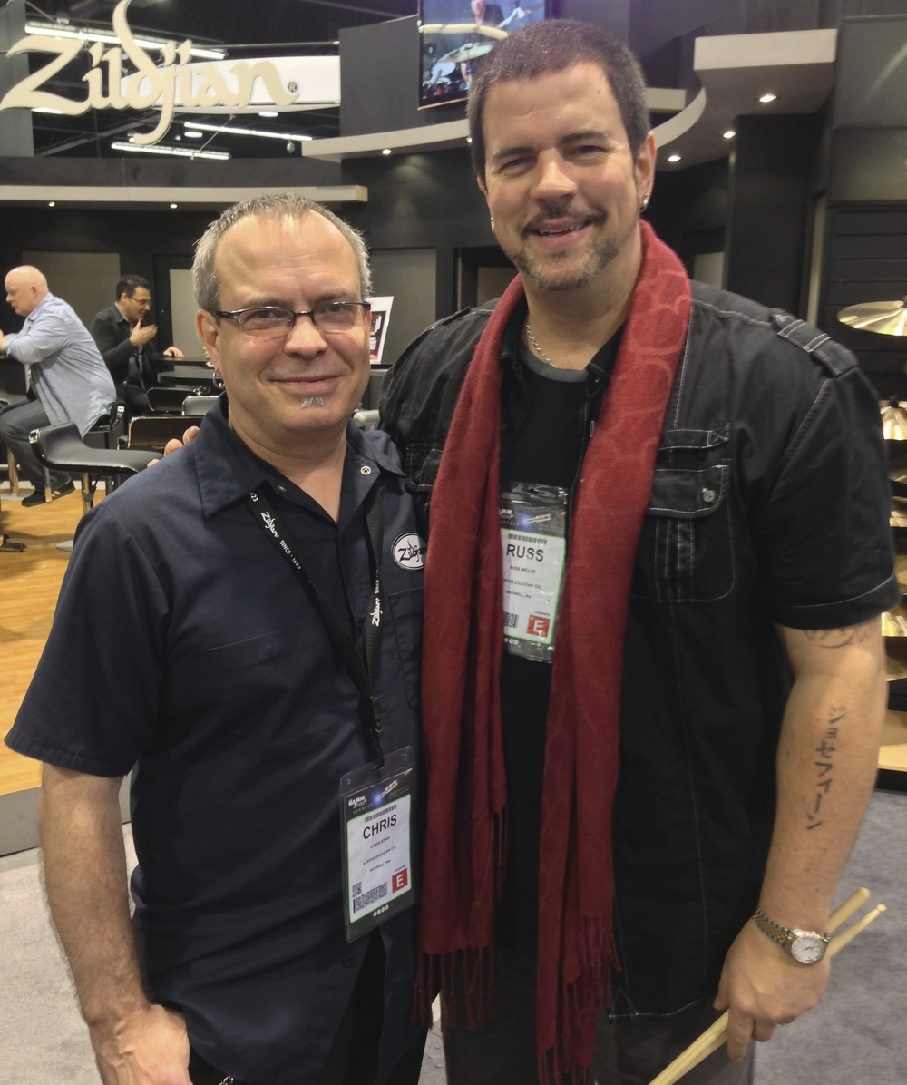 with Russ Miller, NAMM 2014