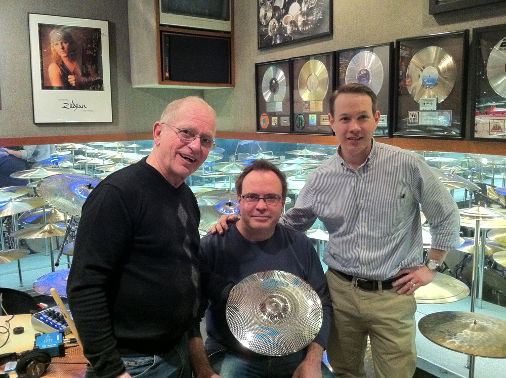 Behind the scenes at Zildjian with Leon Chiappini and Paul Francis