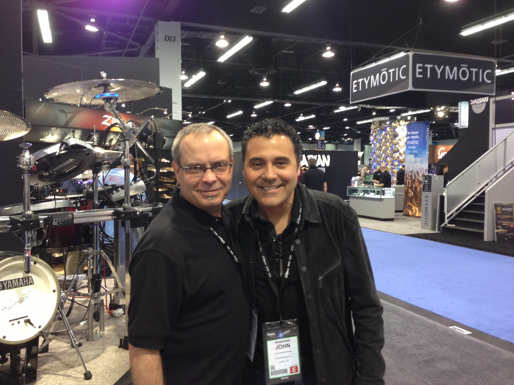 with John DeChristopher, NAMM 2014