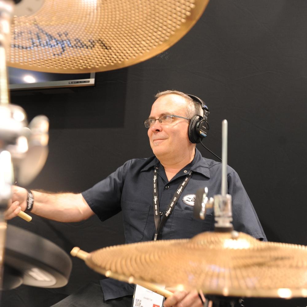 NAMM 2014, Zildjian's Gen-16 AE Cymbal System