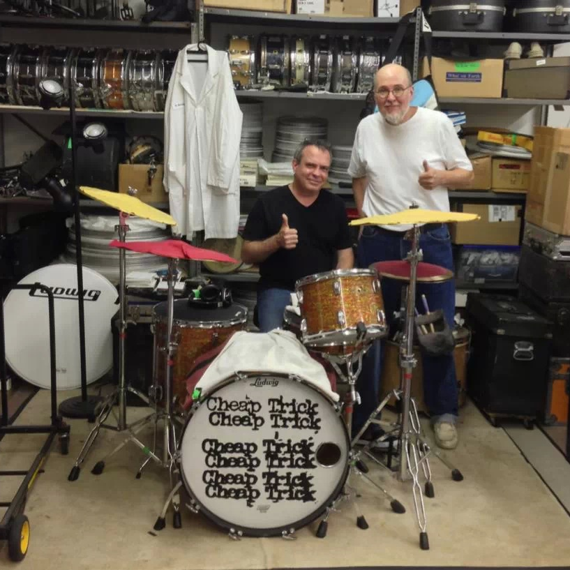 2013 afternoon with Bun E. Carlos - Cheap Trick