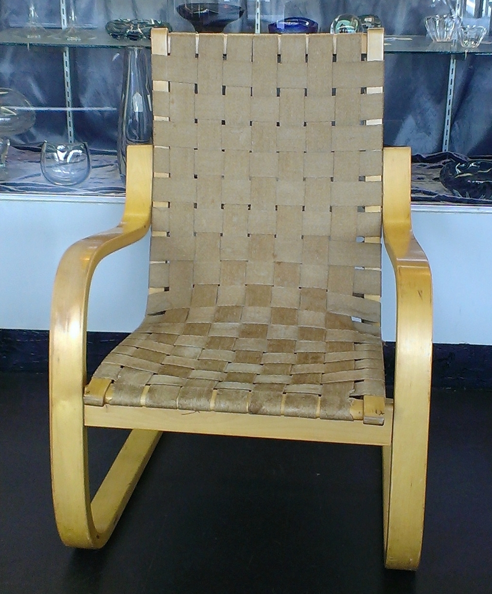 SOLD!  Bentwood Chair By Alvar Aalto For ICF