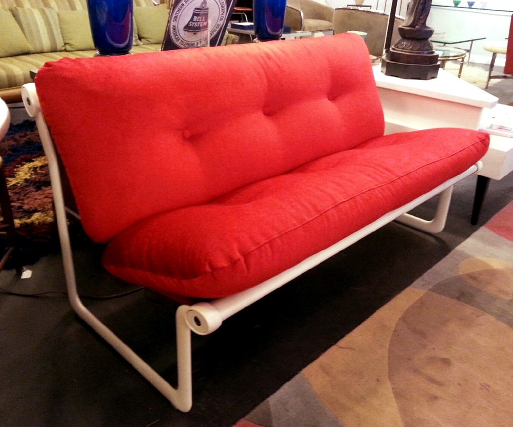 SOLD!   Hannah U0026 Morrison For Knoll Armless Couch