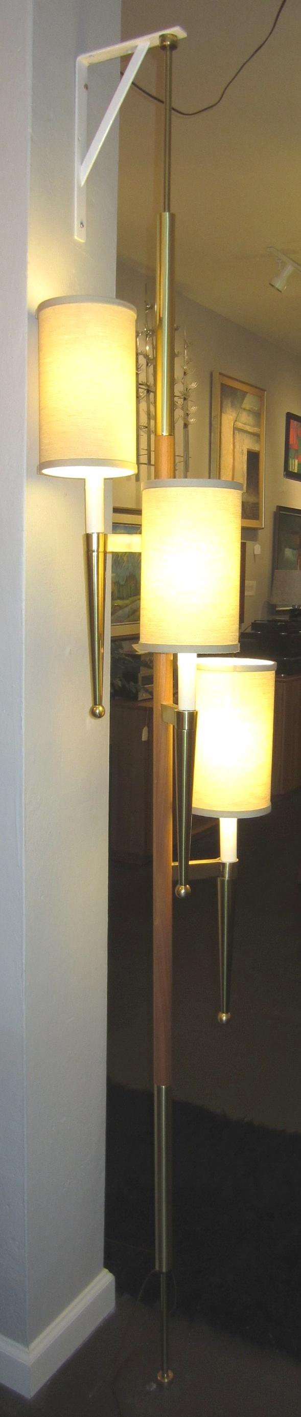Perfect Highendtensionlamp.1950smodernthreelightpolelamp.loiselvintagemodern.2.JPG