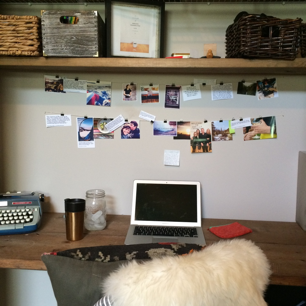 and six weeks later, i was so happy to be back in my home office again!