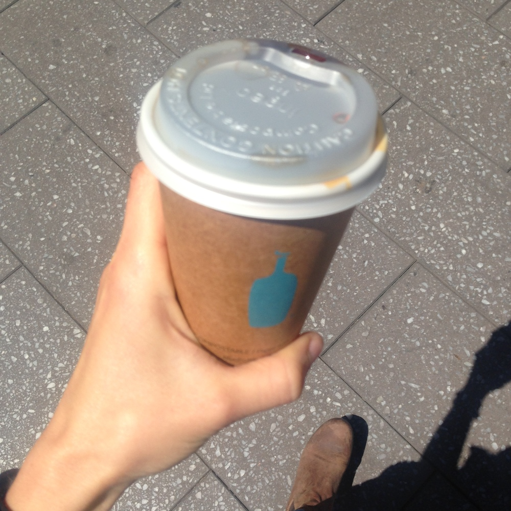 first there was a quick to san francisco which involved a lot of blue bottle coffee.