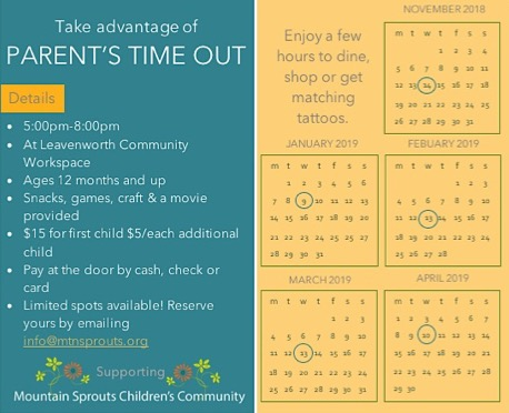 Parent's Time Out — Mountain Sprouts Children's Community