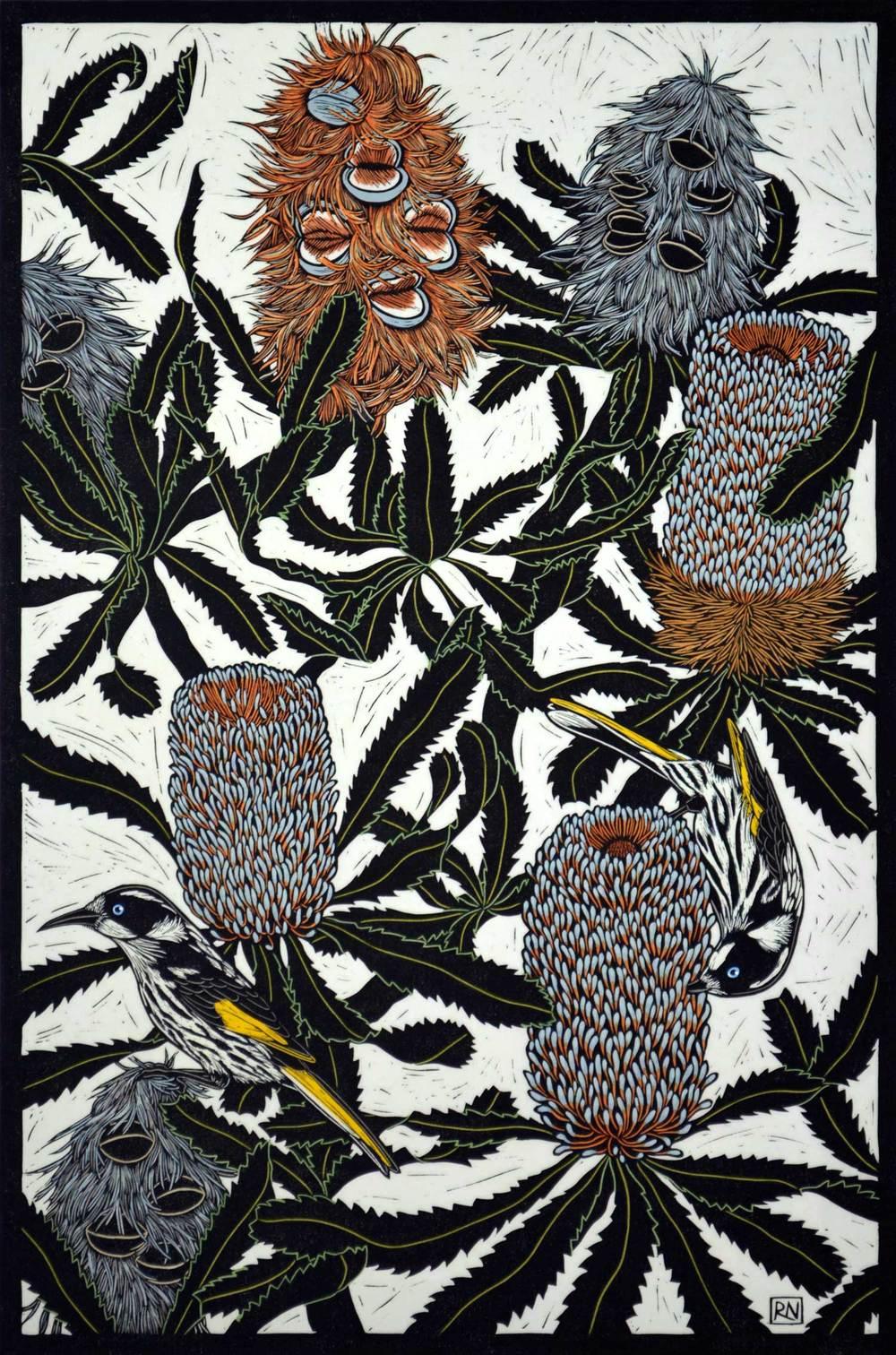 banksia-honeyeater-linocut-rachel-newling.jpg