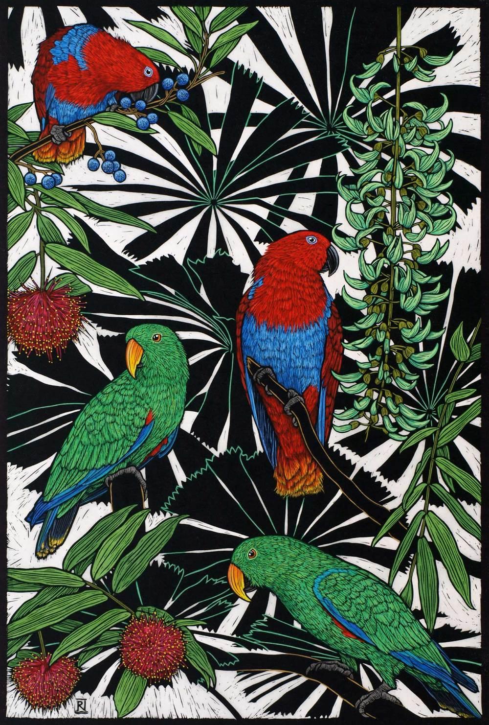 eclectus-parrots-linocut-rachel-newling.jpg