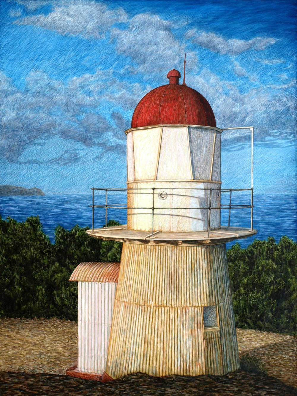 COOKTOWN LIGHTHOUSE 61 X 45.5 CM    EDITION OF 50 PIGMENT ON COTTON RAG PAPER $1,000