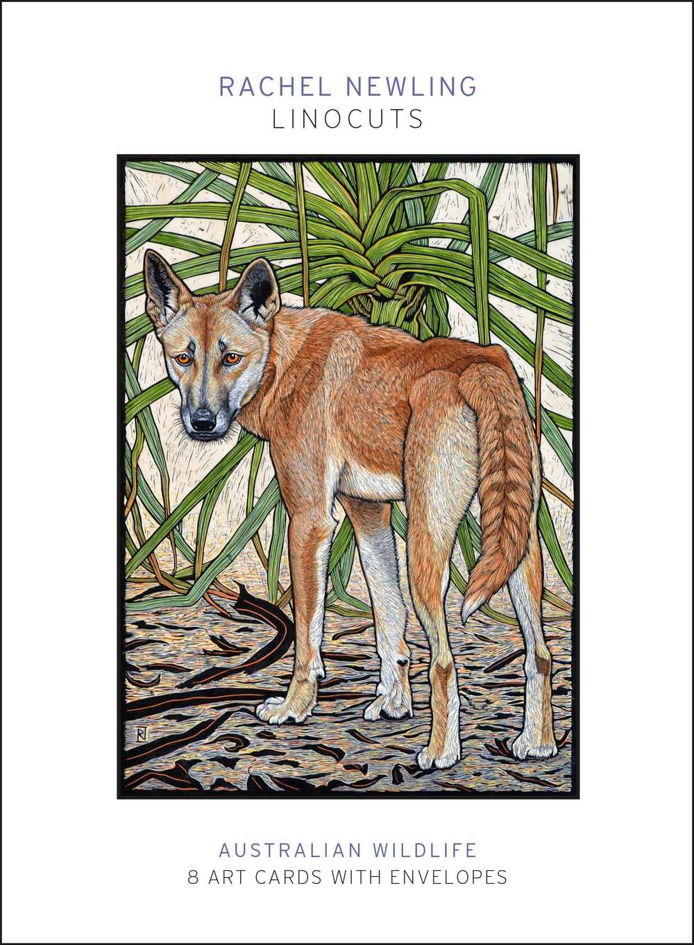 Australian Wildlife linocuts pack