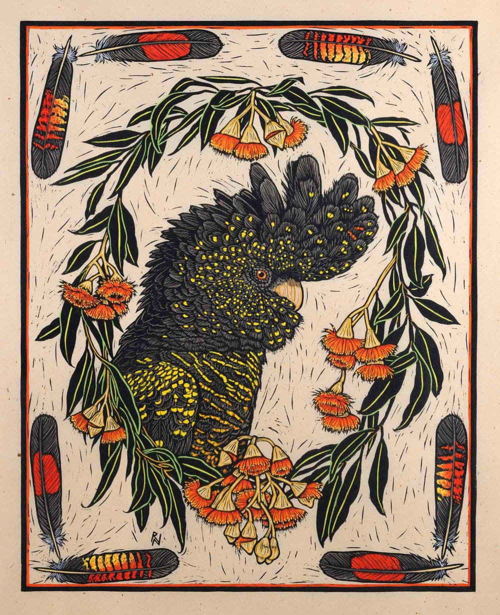 black-cockatoo-and-gum-bloosom-rachel-newling-linocut.jpg