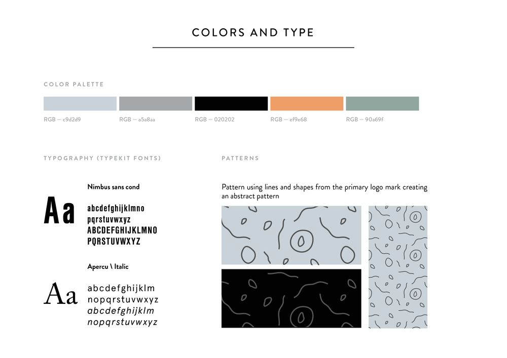 Color-palette-typography-style-guide