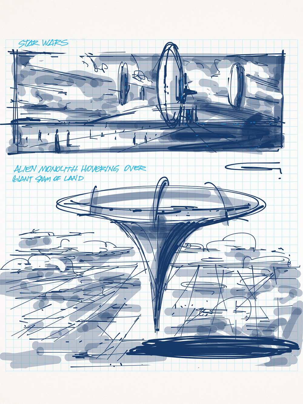 Ideation /// IPhone Sketch