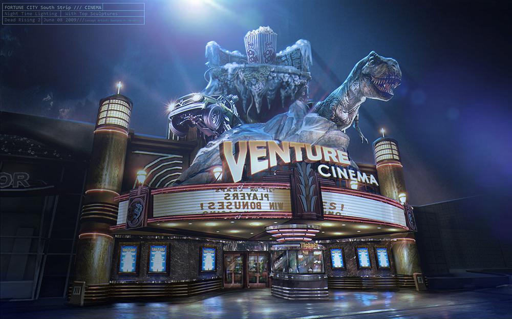 Venture Cinema Facade