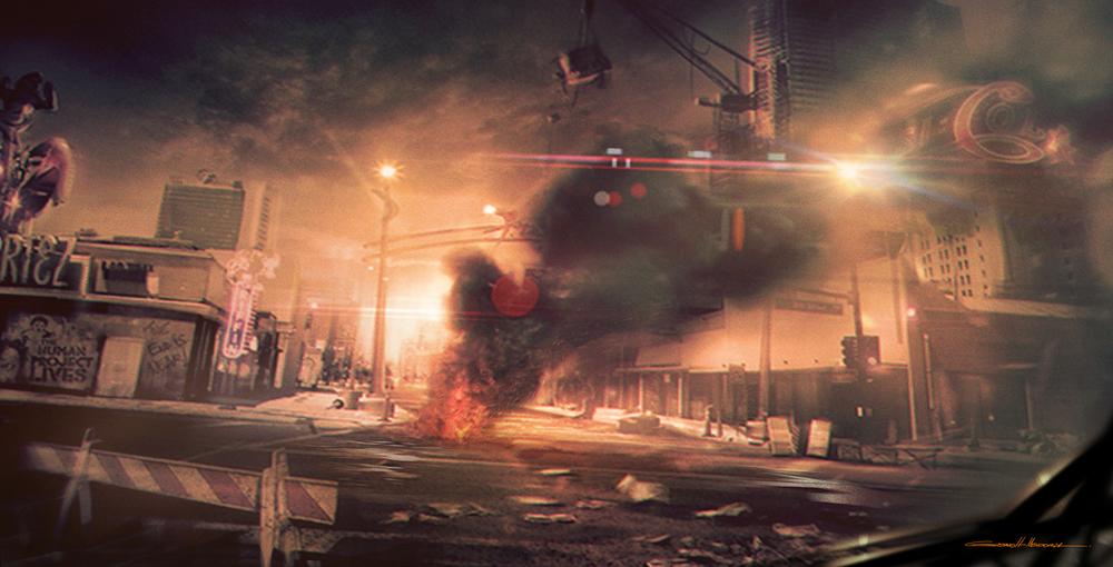 Street after Riot