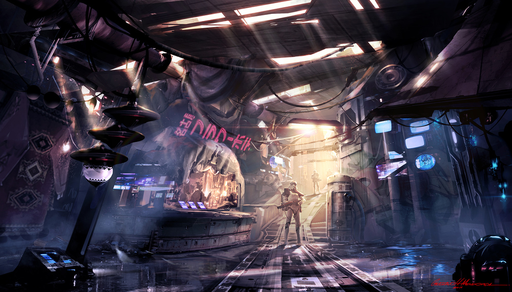 Star Wars Slum /// Interior A