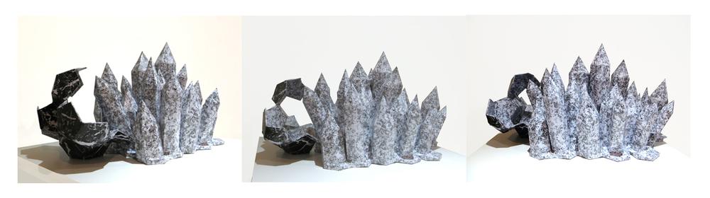 élément gris // grey item : 60 x 55 cm
