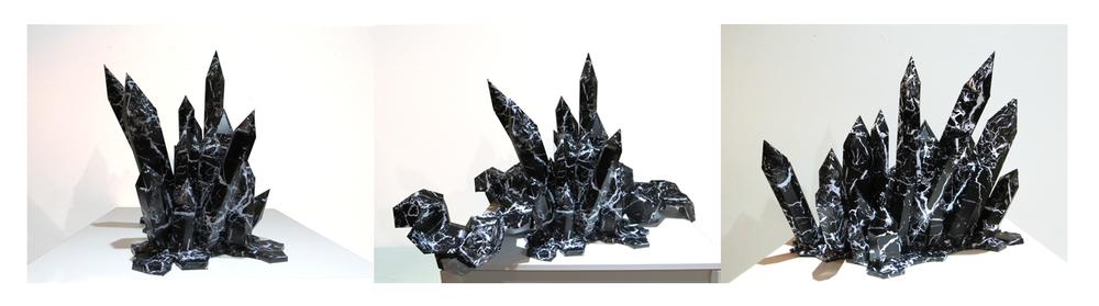 élément noir // black item : 45 x 60 c