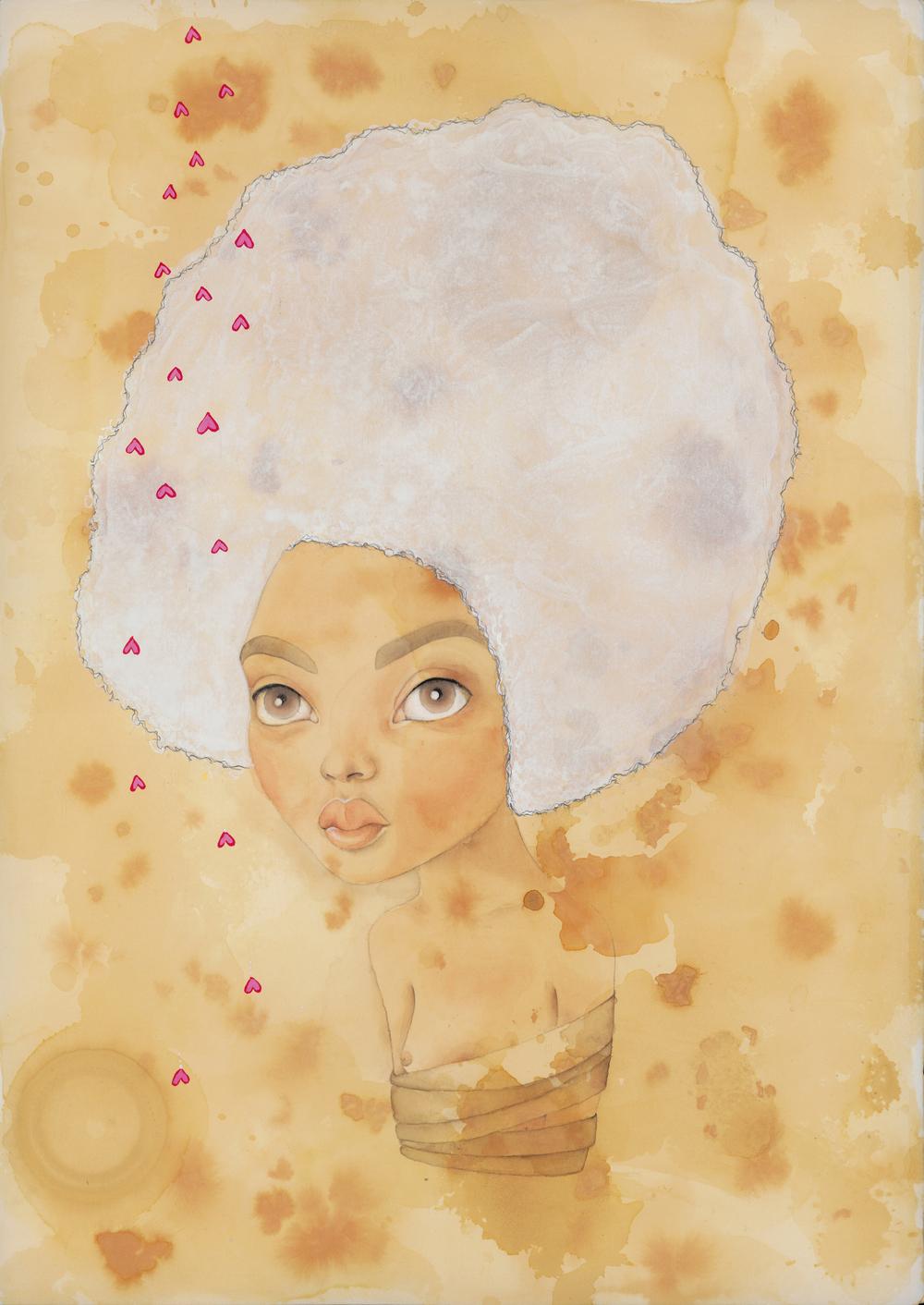 Afro Girl, Amber Varde