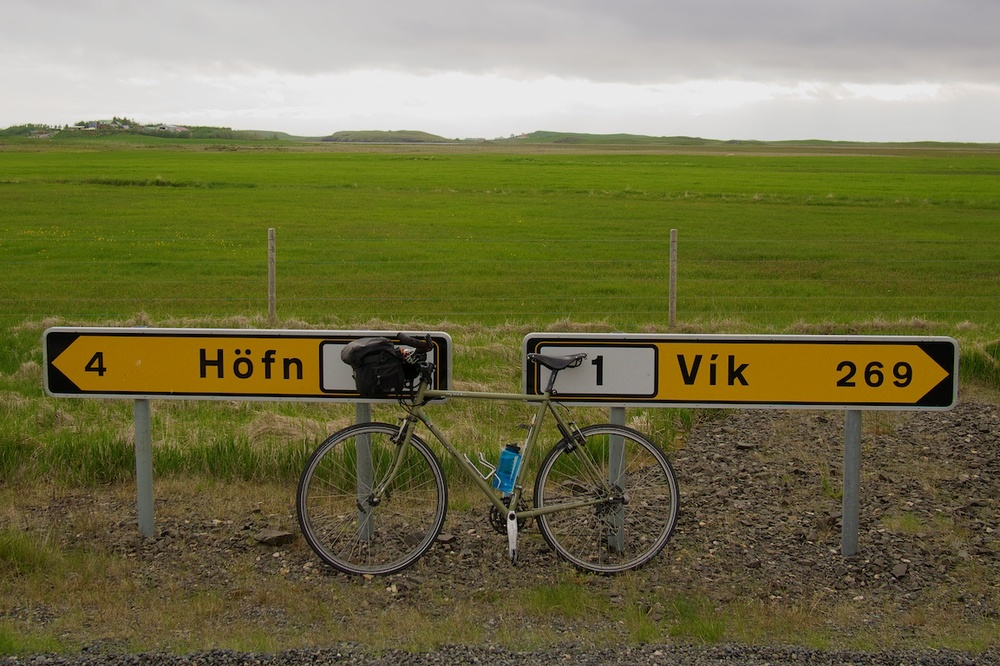 Out for a ride near Hófn, Iceland