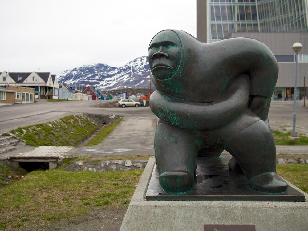 Downtown Nuuk, Greenland