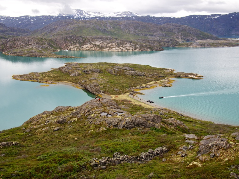 Fjord near Ivigtut, Greenland