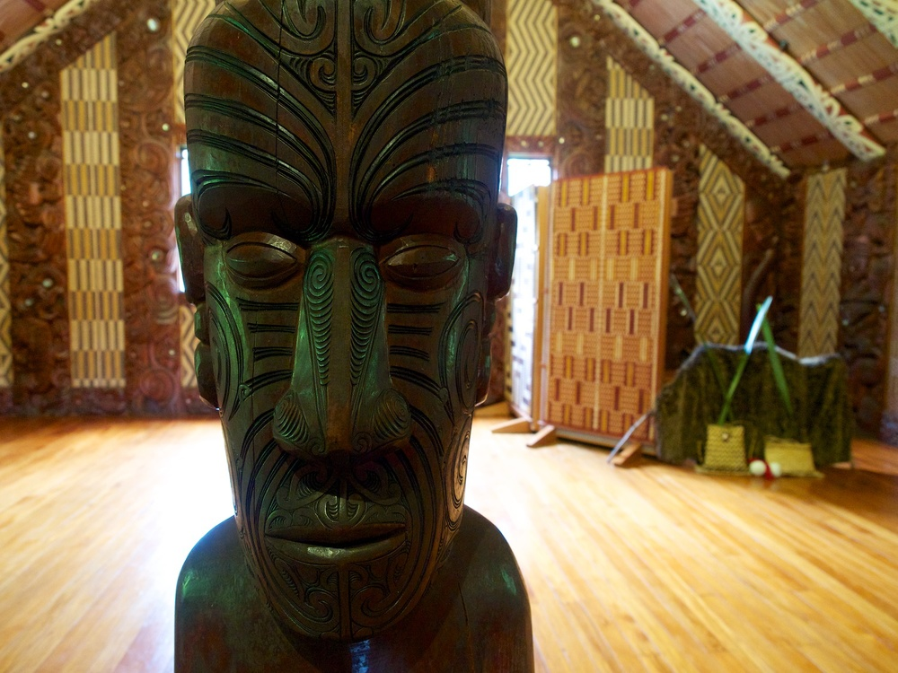 The meeting house at Waitangi
