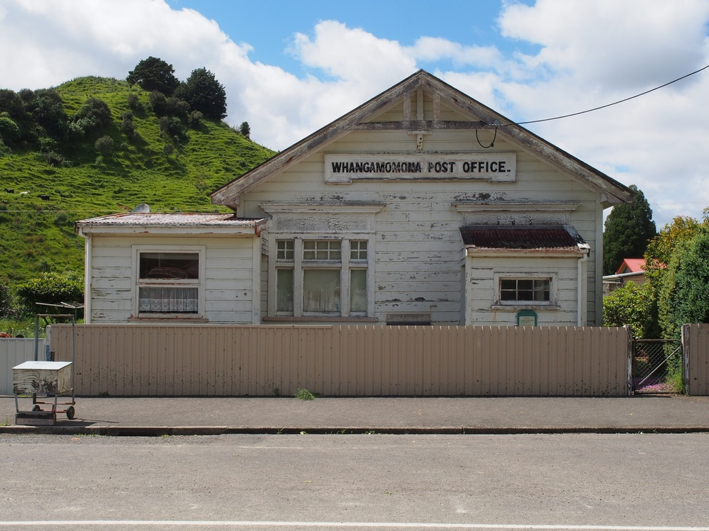 Whangamomona post office.