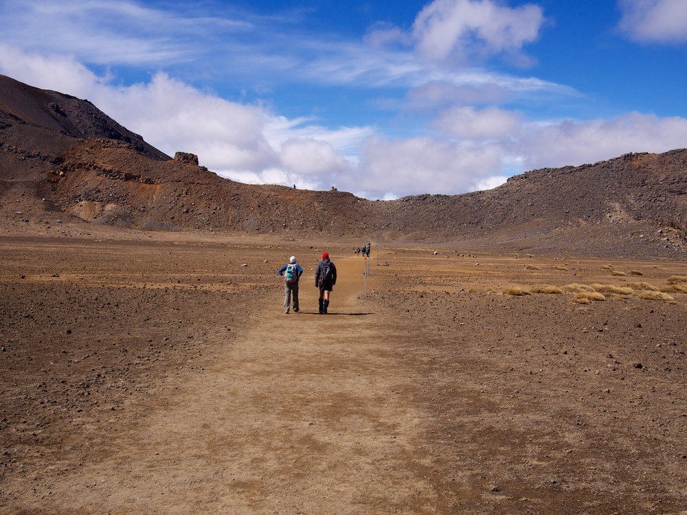 The Tongariro Alpine Crossing.