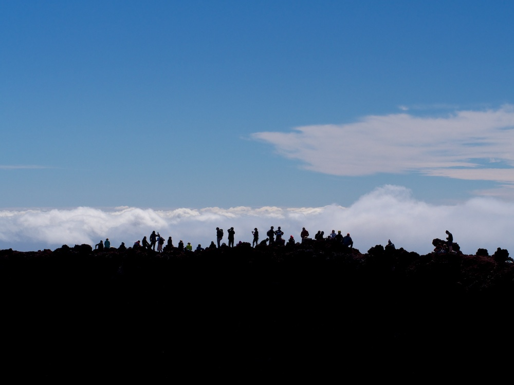 The summit of Mt. Ngauruhoe.