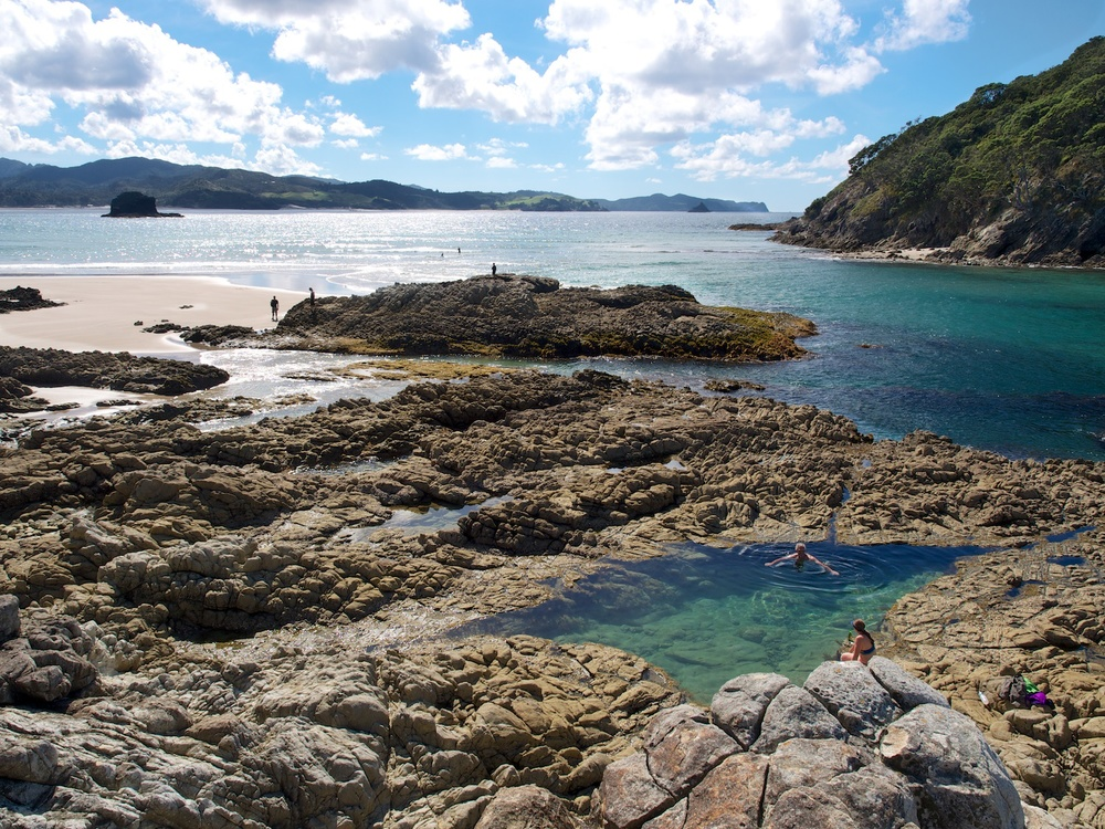 Mermaid Pool, Great Barrier Island
