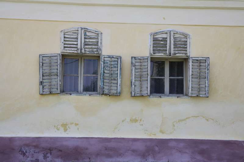 Village facade