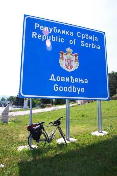 Serbian border
