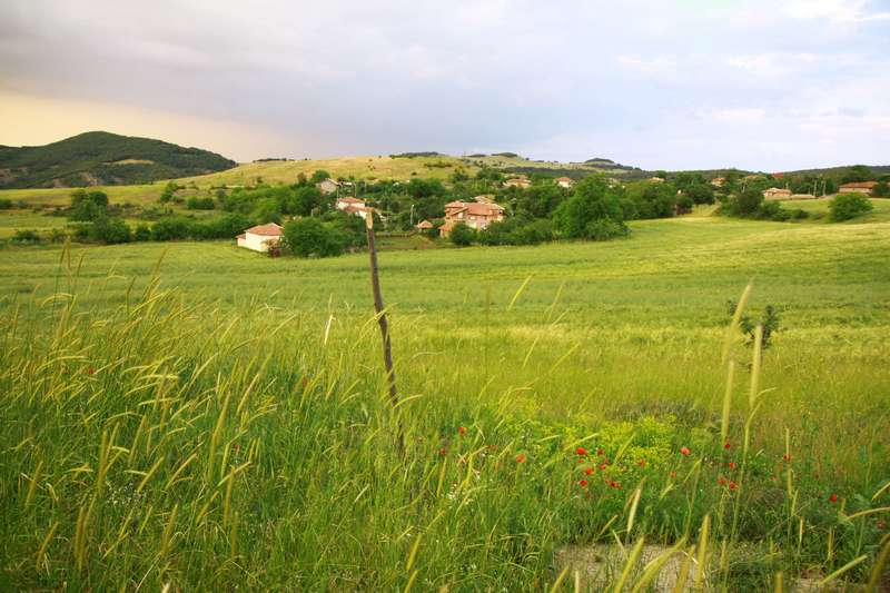 The mountains of Bulgaria