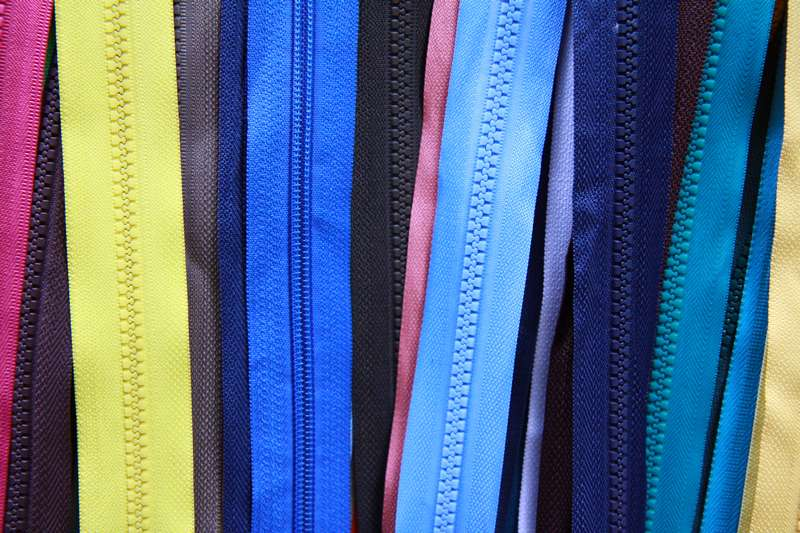 There is a shop for everything including zippers in every possible colour.