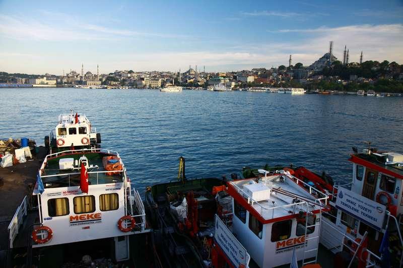 Taksim area.