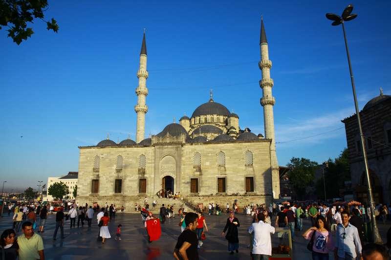 Mosque in Sultanahmet.