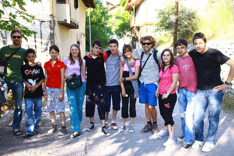 Very frıendly teenagers in Safranbolu