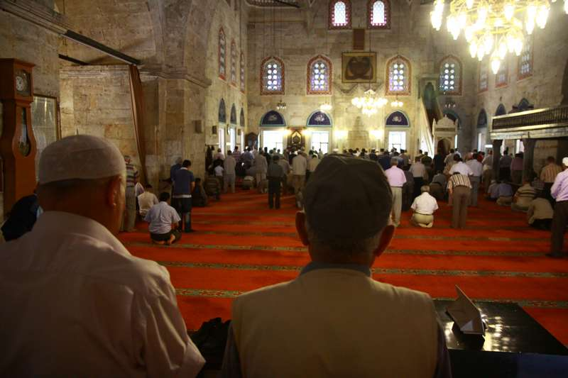 Prayer in Amasya
