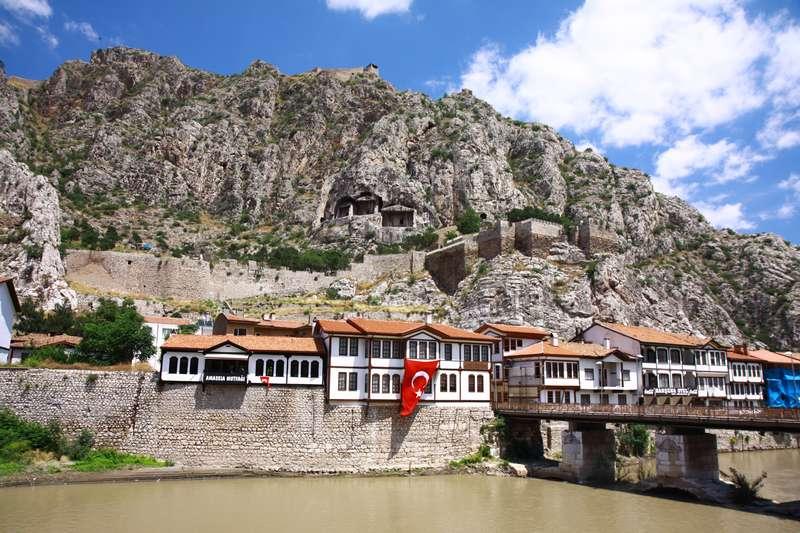 Castle in Amasya